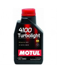 MOTUL 4100 TURBOLIGHT 10W-40 1L - - Home