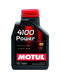 MOTUL 4100 POWER 15W-50 1L - - Home