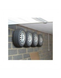 Set patru suporti anvelope pentru perete - LAMPA - Suport ski, biciclete si roti