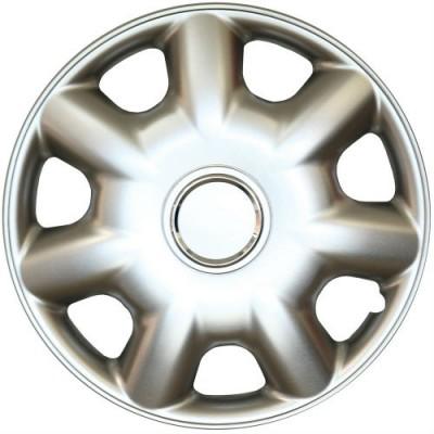 Set capace roti 14 inch, culoare Silver 14-218