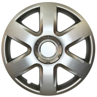 Set capace roti, pe 15 inch, culoare Silver, 15-337