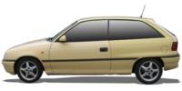 Astra F / Astra F Cabrio | 91-01