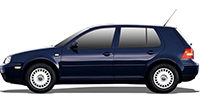 Golf IV (1J1, 1J5) | 97-06